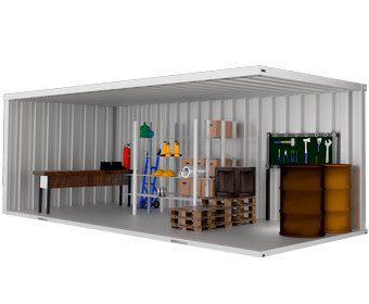 Container Habitável Almoxarifado