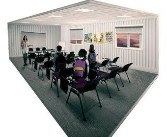 imagem meramente ilustrativa: Container Habitável Escola