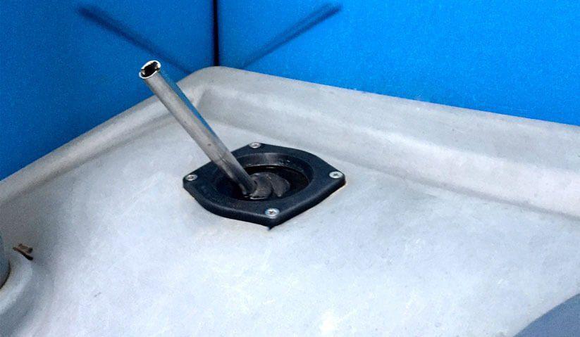 Imagem da válvula do toalete luxo