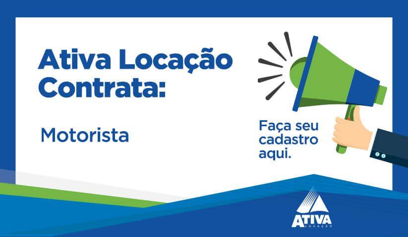 Oportunidade de Emprego para Motorista – Filial Cuiabá