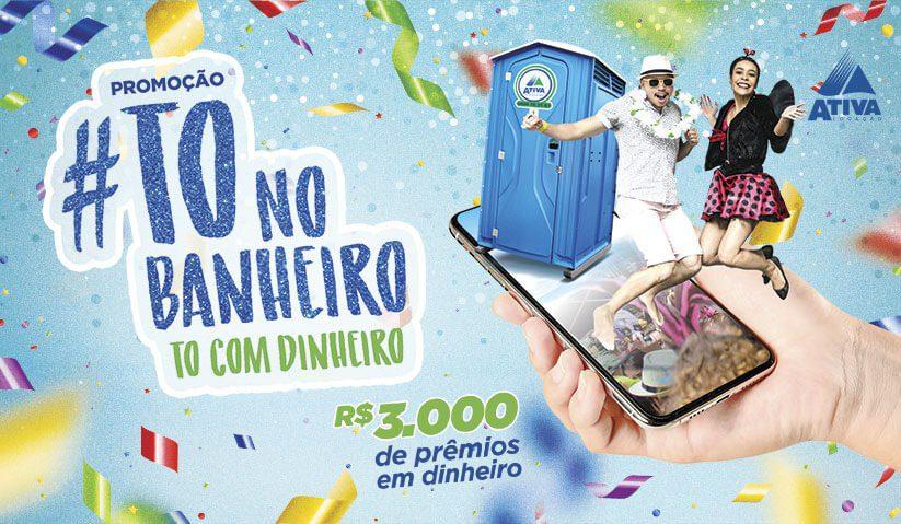 Promoção #ToNoBanheiro, To com dinheiro