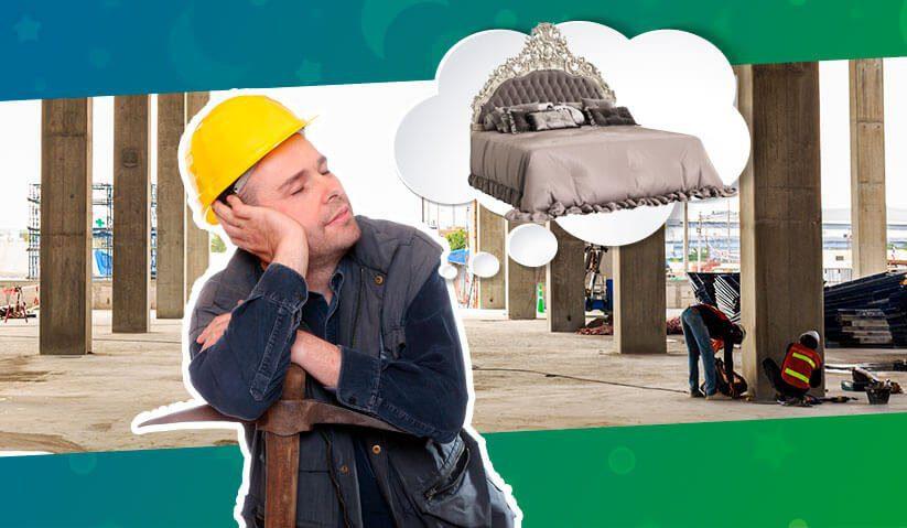 Imagem de capa do Artigo Alojamento para canteiro de obras: monte o seu com muito mais conforto