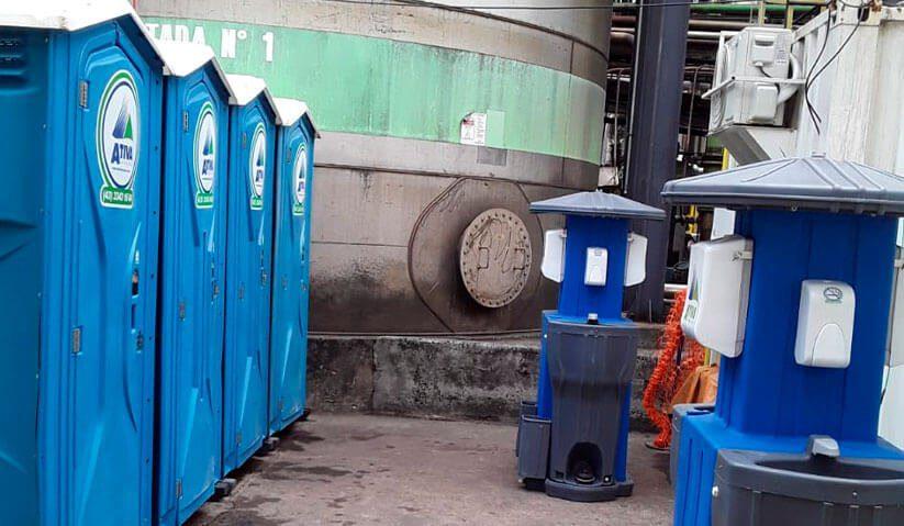imagem do blog dicas para alugar banheiro químico